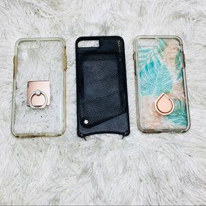 Accessories - 3 iPhone 7 Plus/8 Plus Cases